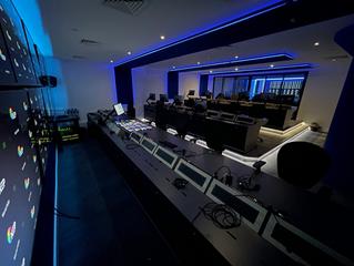 Stunning Broadcast Desk Project Completed by Knotty Ash