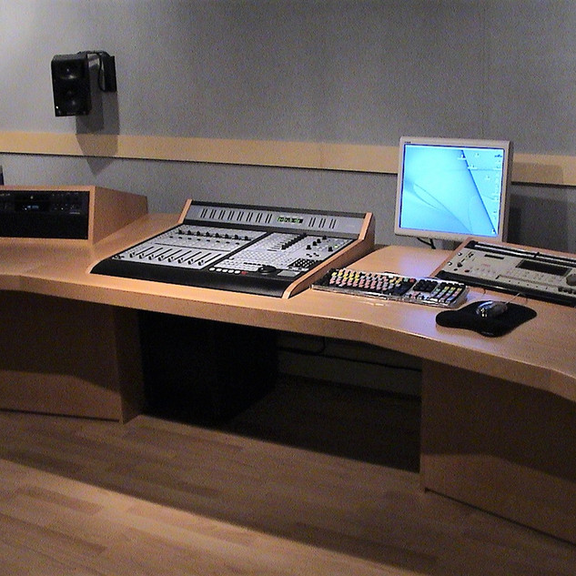 Radio Studio Edit Desk