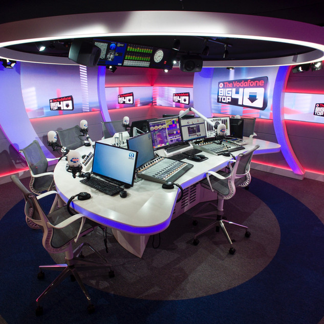 Radio Studio Furniture Global