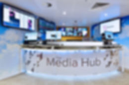 Broadcasting Furniture ITN Media Hub