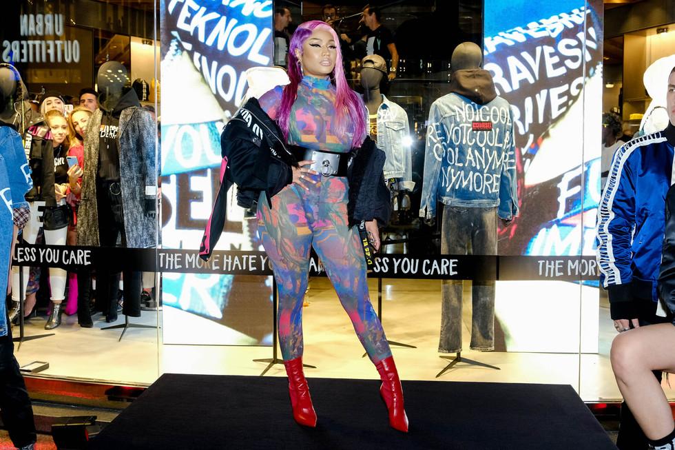 Nicki Minaj at Diesel Milano 2018