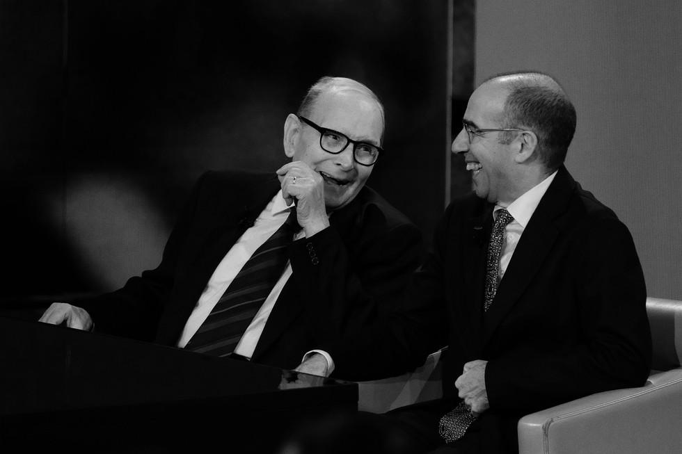 Ennio Morricone e Giuseppe Tornatore