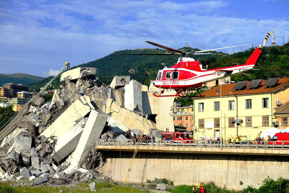 Crollo ponte Morandi, Genova 14 agosto 2018