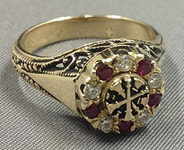 Fire Department Rings for Woman