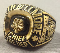 Fire Department Rings with the Classic Mark Style
