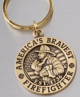 America's Bravest Key Ring