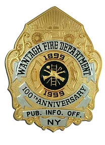 Anniversary Badges for your Fire Department