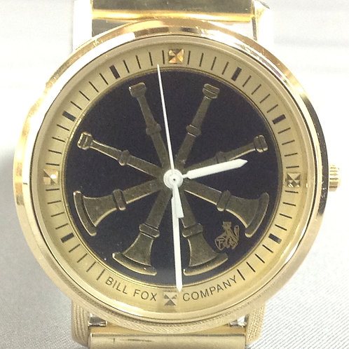 W1061 Sophisticated Chief B/G 4 Horns Fire Watch