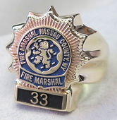 Police and Law Enforcement Rings
