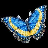 Vattenfärg fjäril 10