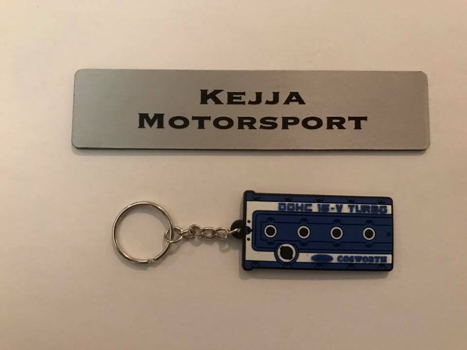 Cosworth YB Cam Cover Keyring