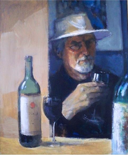 Self portrait by John Henson