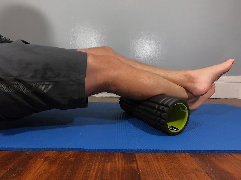 The all important foam roller that I use for running recovery