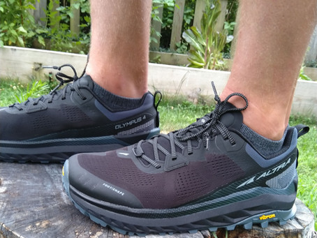 Altra Olympus 4 - Initial thoughts