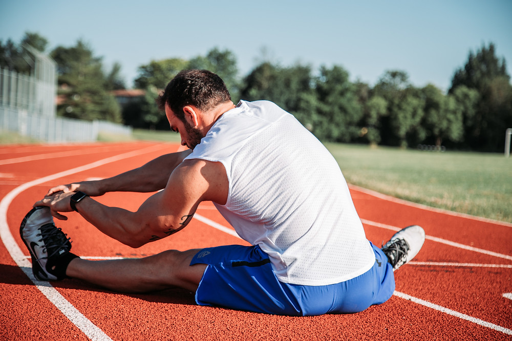 It's important to warm up, cool down, and recover properly after a run