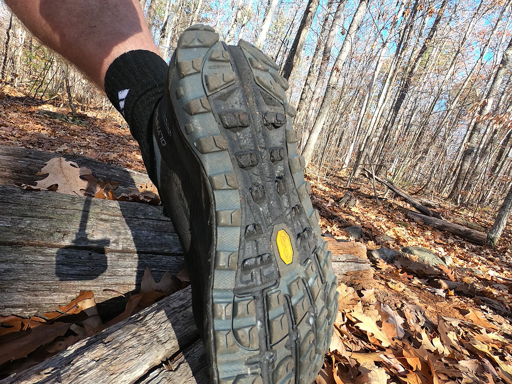 Running shoe review of the Altra Olympus 4 trail running shoe