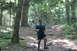 Jake running race