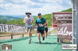 Jake running a race