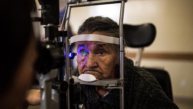Hospital de la ceguera 100 Años / APEC