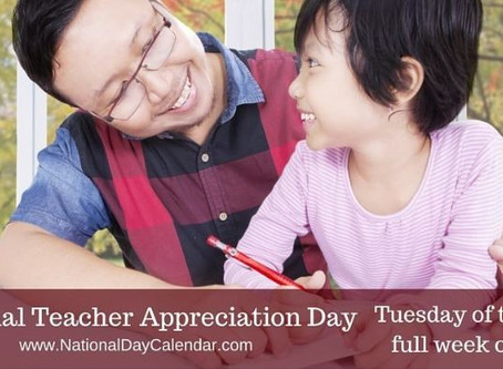 Celebrate National Teacher Appreciation Day!