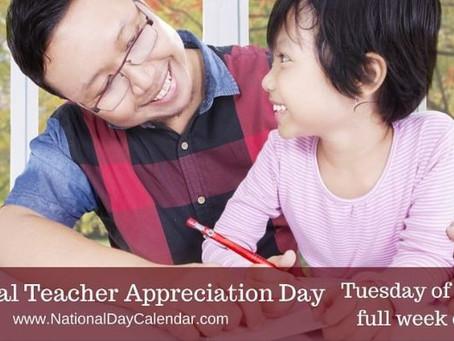 Celebrate National Teacher Appreciation Day!