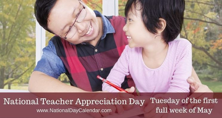 National Teacher Appreciation Day teachers educators learning children Science Naturally