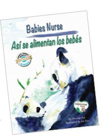 babies nurse, asi se alimentan los bebes, breastfeeding, bilingual, platypus media