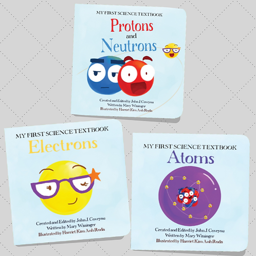 All About Atoms Board Book Set