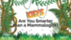 Dia michels science naturallys kids are you smarter than a mammalogist anmals mammals early education