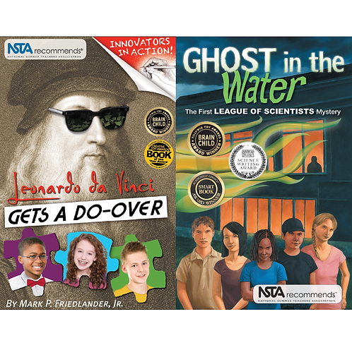 Blended STEM Fiction Book Set