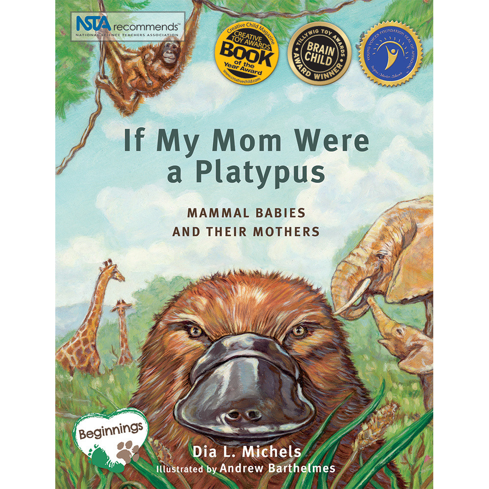 if my mom were a platypus environment earth day mammals reading young children