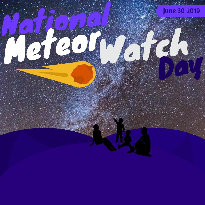 meteor watch day science STEM kids activities meteors