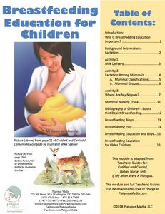 Breastfeeding education for children resources nursing downloadable platypus media