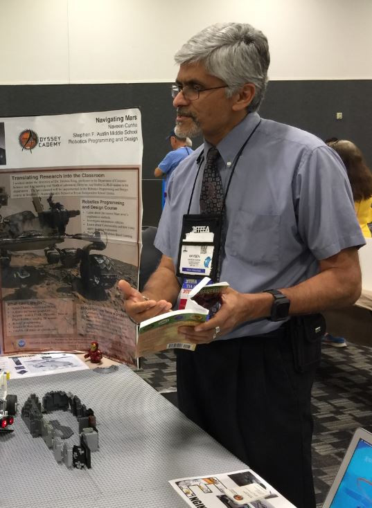 Naveen Cunha STEM ITEEA conference science literacy reading books education
