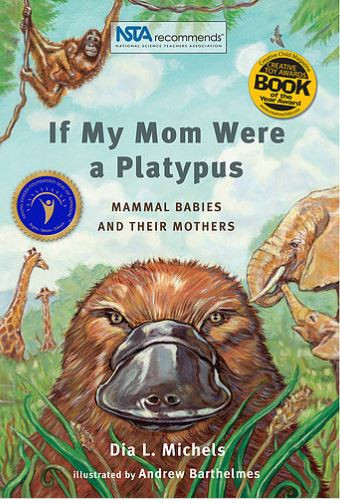 if my mom were a platypus reading read stories children read aloud animals parents parenting nurturing