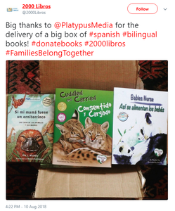 2000 Libros platypus media bilingual early childhood education