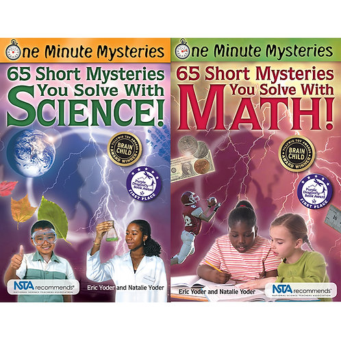 Mysteries in a Minute Book Set
