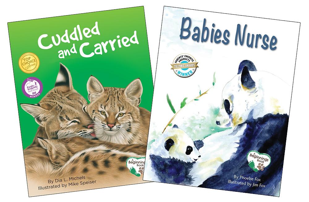cuddled and carried, babies nurse, nurtured and nuzzled, attachment parenting,  breastfeeding, platyplus media
