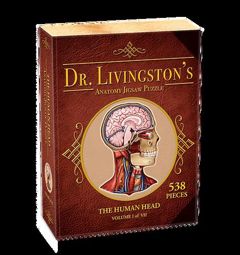 Dr. Livingston's Anatomy Jigsaw Puzzle: The Human Head