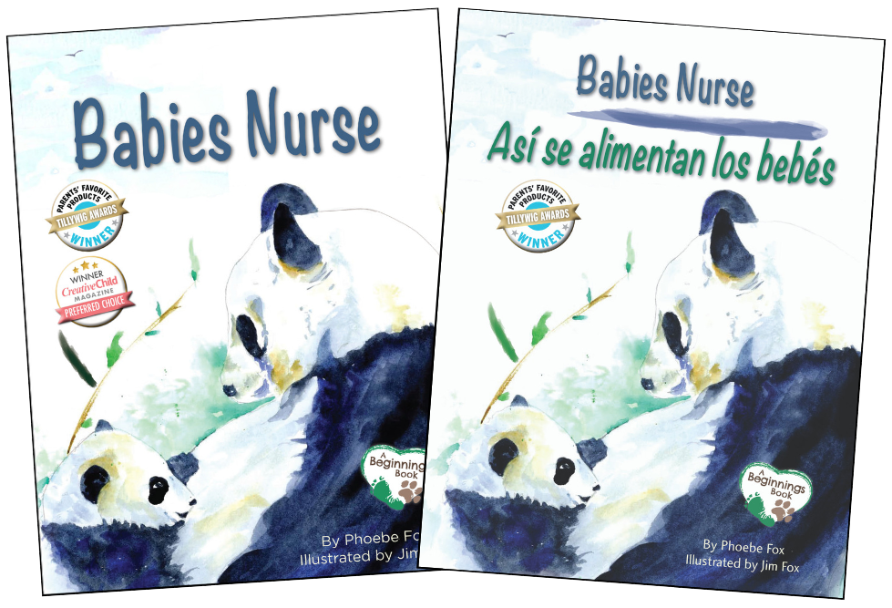babies nurse english spanish parenting attachment breastfeeding nursing platypus media