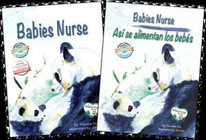 babies nurse english spanish parenting attachment breastfeeding nursing platypus media