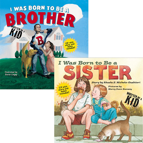 Born to be A Brother/Sister Gift Set