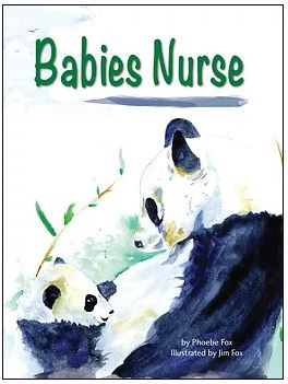 Babies nurse, platypus media, phoebe fox, jim fox, breastfeeding,