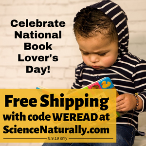 books lovers day reading literacy free shipping science math stem literature
