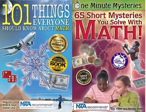 math madness book set platypus media STEM math science