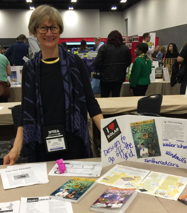 Conni Crittenden STEM literacy books reading ITEEA conference science teaching