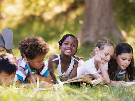 Make the most of summer! Time for Swimming, Picnics, and Reading