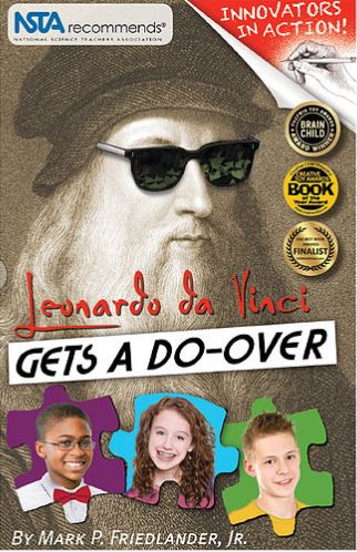 leonardo da vinci gets a do-over book special discount science STEM children reading
