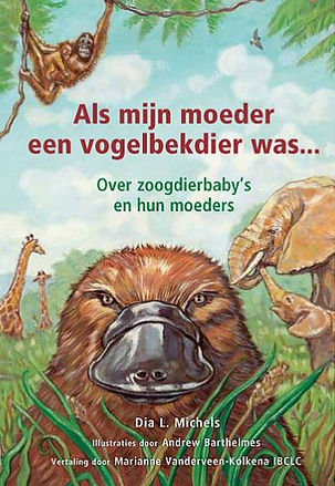 Bilingual dutch if my mom were a platypus parenting animals book gift idea holidays free shipping attachment parenting stocking stuffer parents