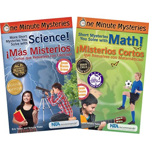 Bilingual Science and Math Book Set / Conjunto de libros bilingües